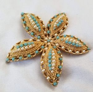 Vintage Starfish Brooch/Pin